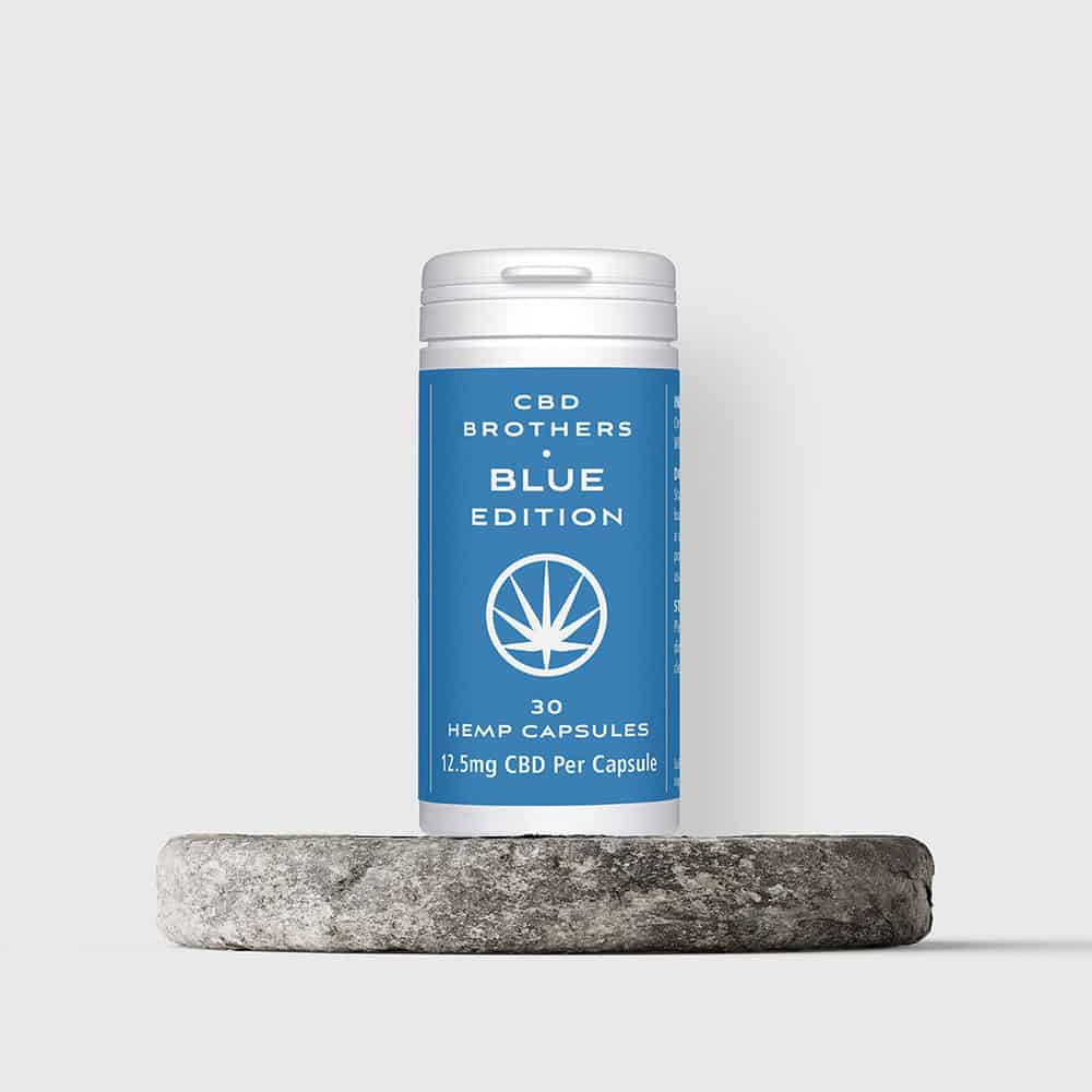 CBD Brothers Blue Edition CBD Capsules