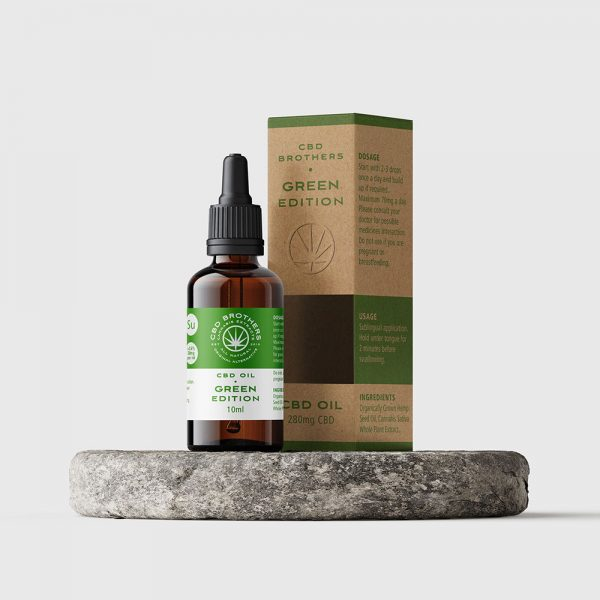 CBD Brothers Green Edition CBD Oil