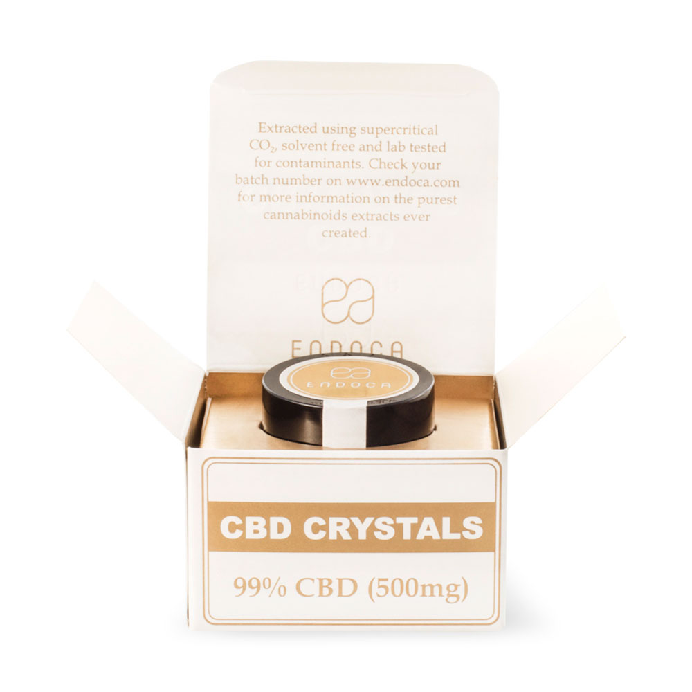 Endoca Cannabis CBD Crystals