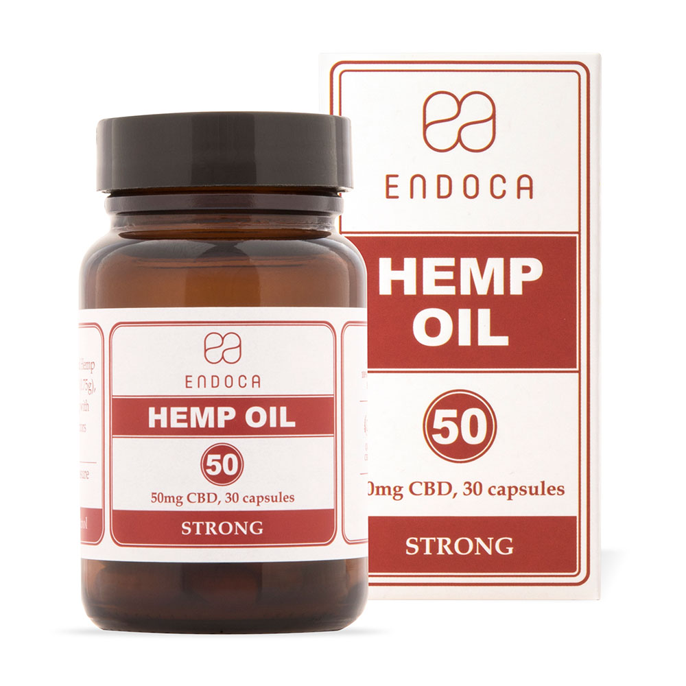 Endoca CBD Hemp Oil Capsules 1500mg