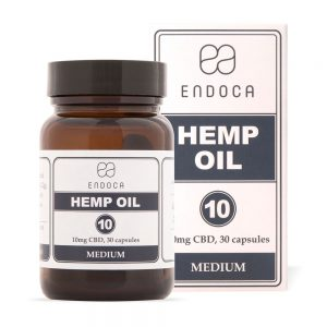 Endoca CBD Hemp Oil Capsules 300mg