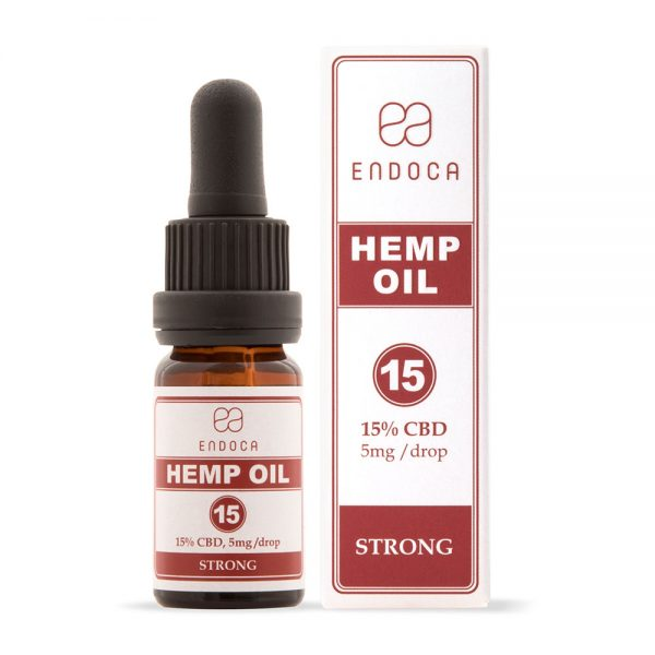 Endoca CBD Hemp Oil Drops 1500mg