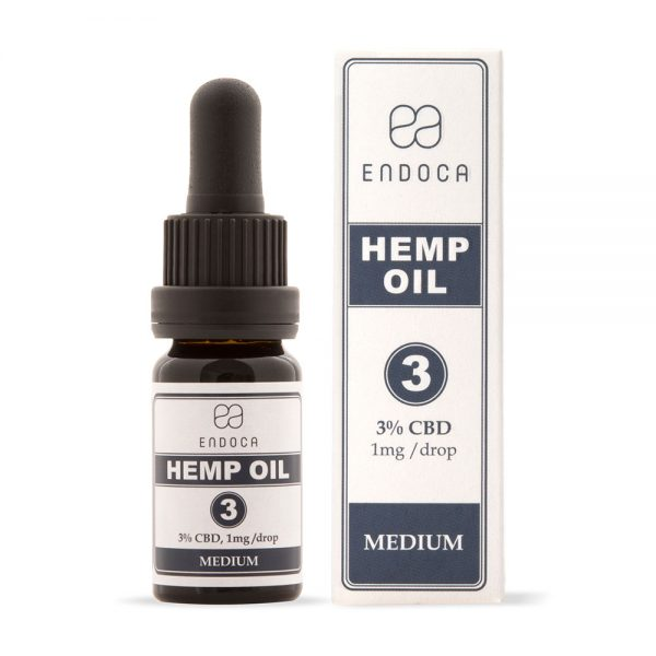 Endoca CBD Hemp Oil Drops 300mg