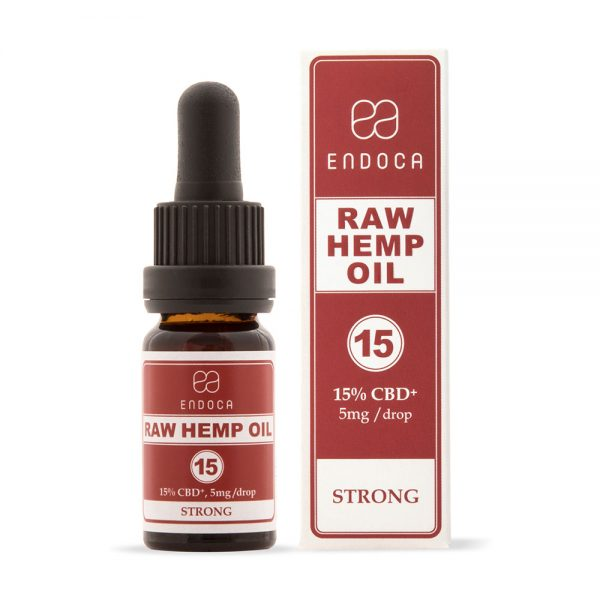 Endoca CBD Raw Hemp Oil Drops 1500mg