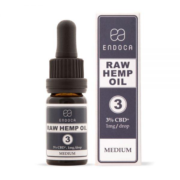 Endoca CBD Raw Hemp Oil Drops 300mg