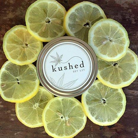 Kushed Lemon Drop Candle