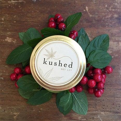 Kushed Panama Red Candle