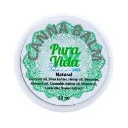Pura Vida CBD Balm Jar Natural