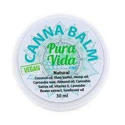 Pura Vida CBD Balm Jar Natural Vegan