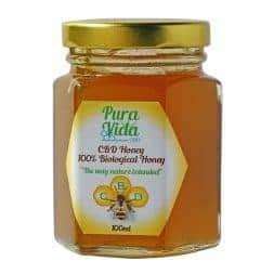 Pura Vida CBD Infused Raw Honey