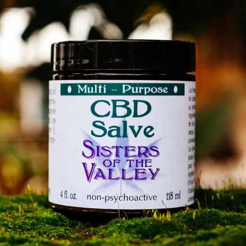 Sisters of the Valley CBD Topical Salve 120ml