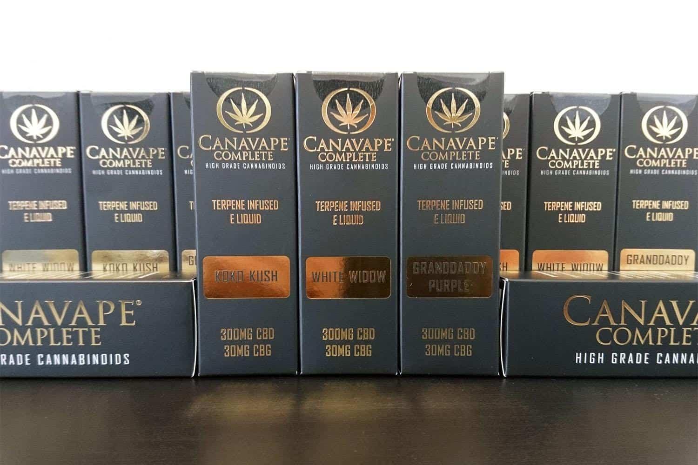 Canavape Complete CBD E Liquids