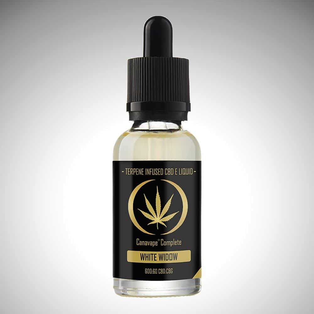 White Widow CBD Eliquid (600mg)