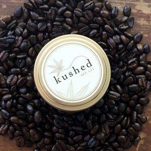Kushed Cream Caramel Candle