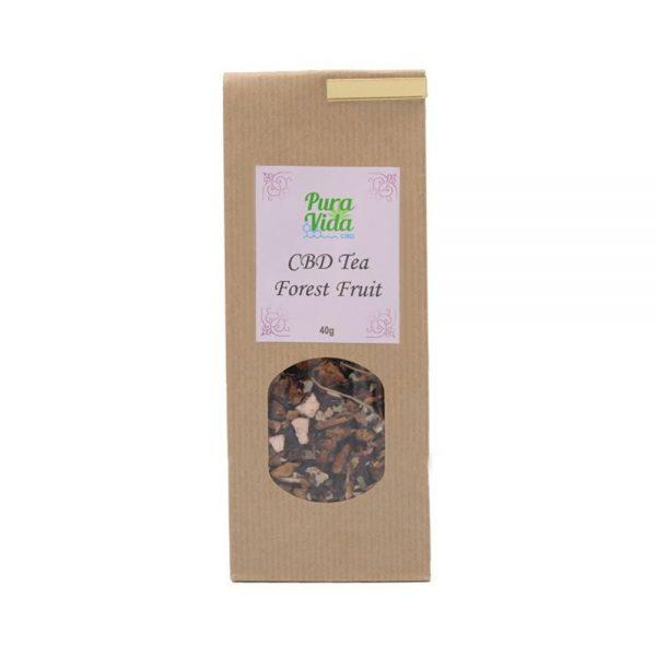 Pura Vida CBD Forest Fruits CBD Tea