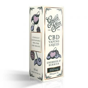 Green Stem CBD Cherries & Berries Vape Liquid 250mg