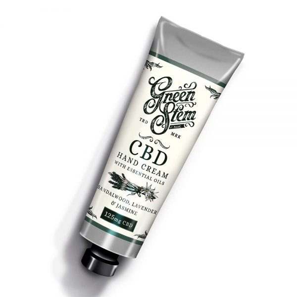 Green Stem CBD Eucalyptus Hand Cream