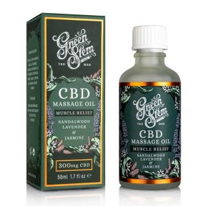 Green Stem CBD Massage Oil