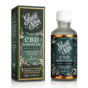 Green Stem CBD Massage Oil