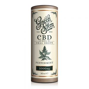 Green Stem CBD Peppermint CBD Oil 1000mg