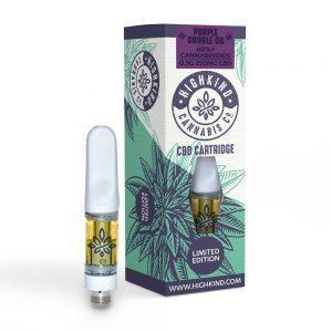HighKind Limited Edition Purple Double OG CBD Distillate Vape Oil