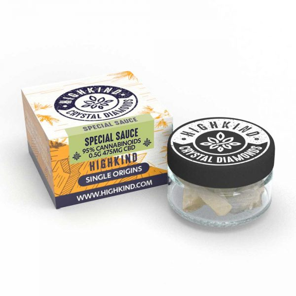 HighKind Single Origin Special Sauce CBD Crystal Concentrate