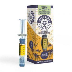 HighKind Single Origin Special Sauce CBD Distillate Vape Oil