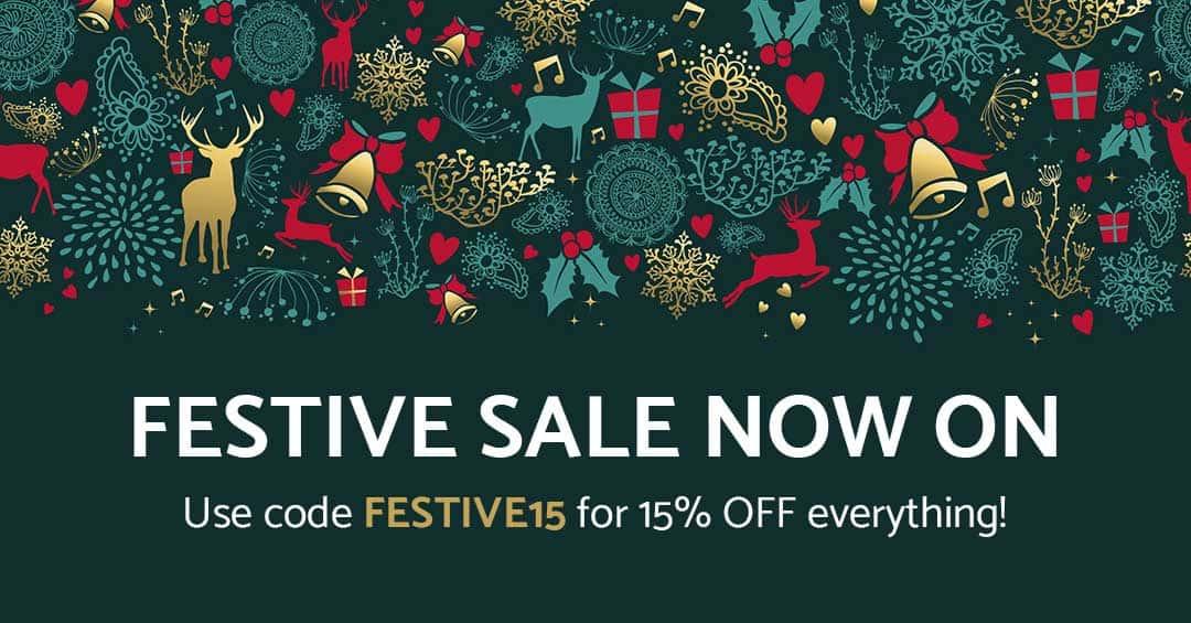 Festive Sale Now On