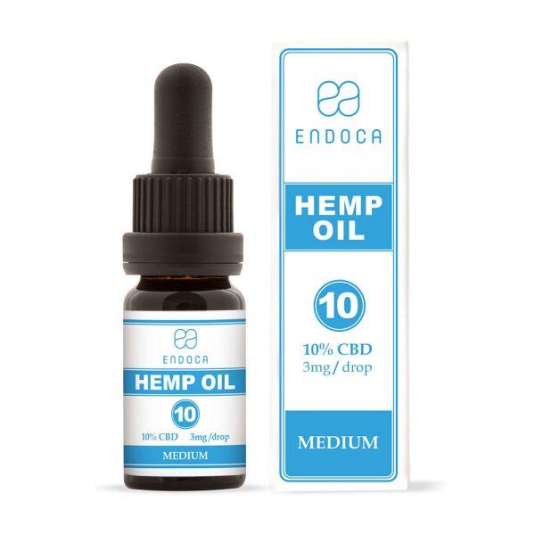 Endoca CBD Hemp Oil Drops 1000mg