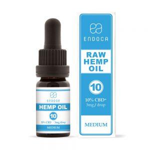 Endoca CBD Raw Hemp Oil Drops 1000mg