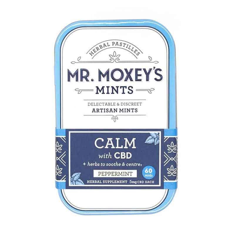 Mr Moxey's Calm Peppermint CBD Mints 300mg