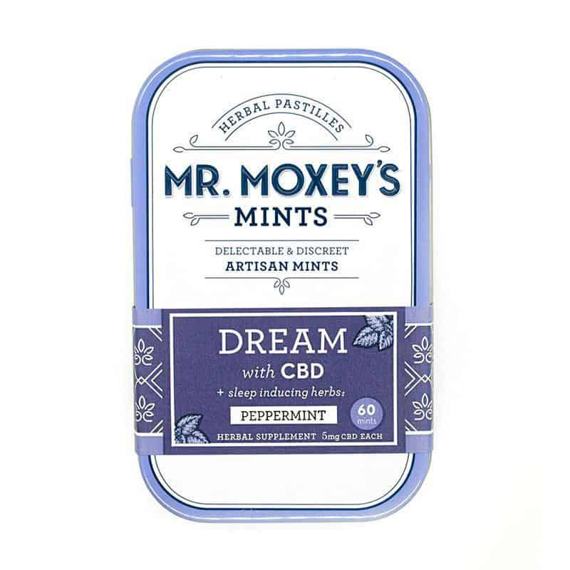 Mr Moxey's Dream Peppermint CBD Mints 300mg