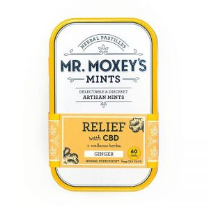 Mr Moxey's Relief Ginger CBD Mints 300mg